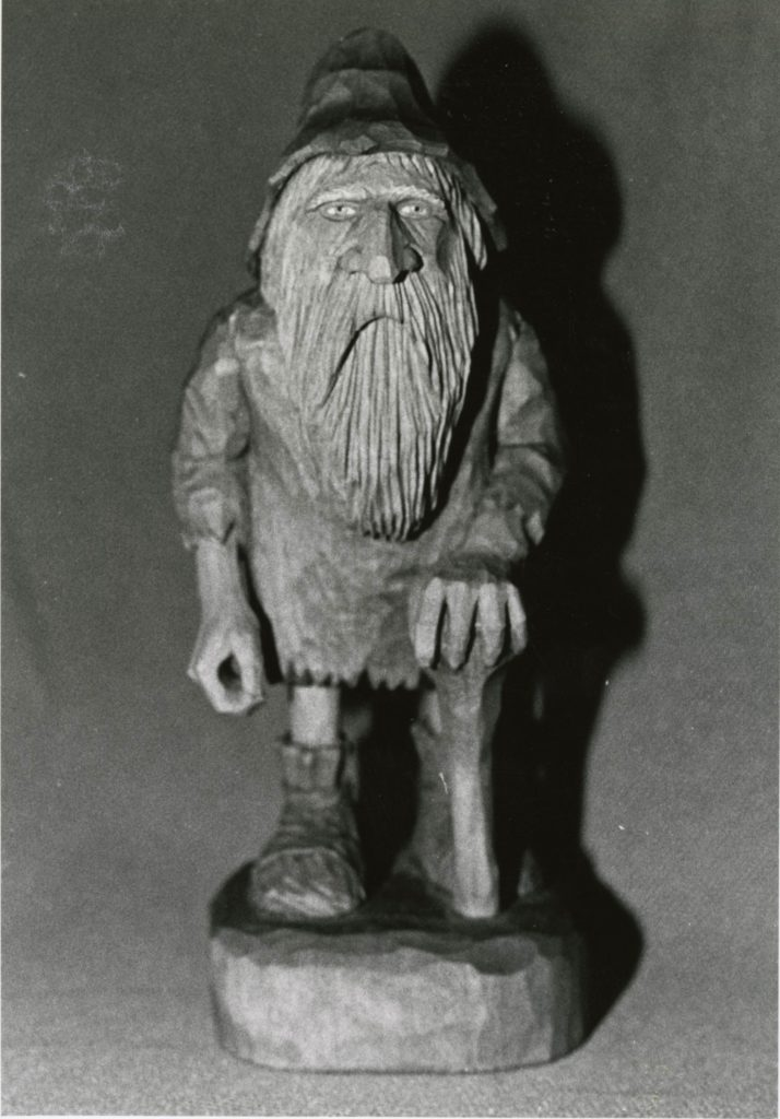 """Old Vagrant"" figure © 1992 Becky Lusk ""Old Vagrant"" figure © 1992 Becky Lusk"
