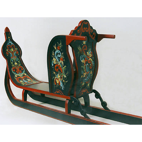 One-man sled © 2001 Joanne MacVey One-man sled © 2001 Joanne MacVey