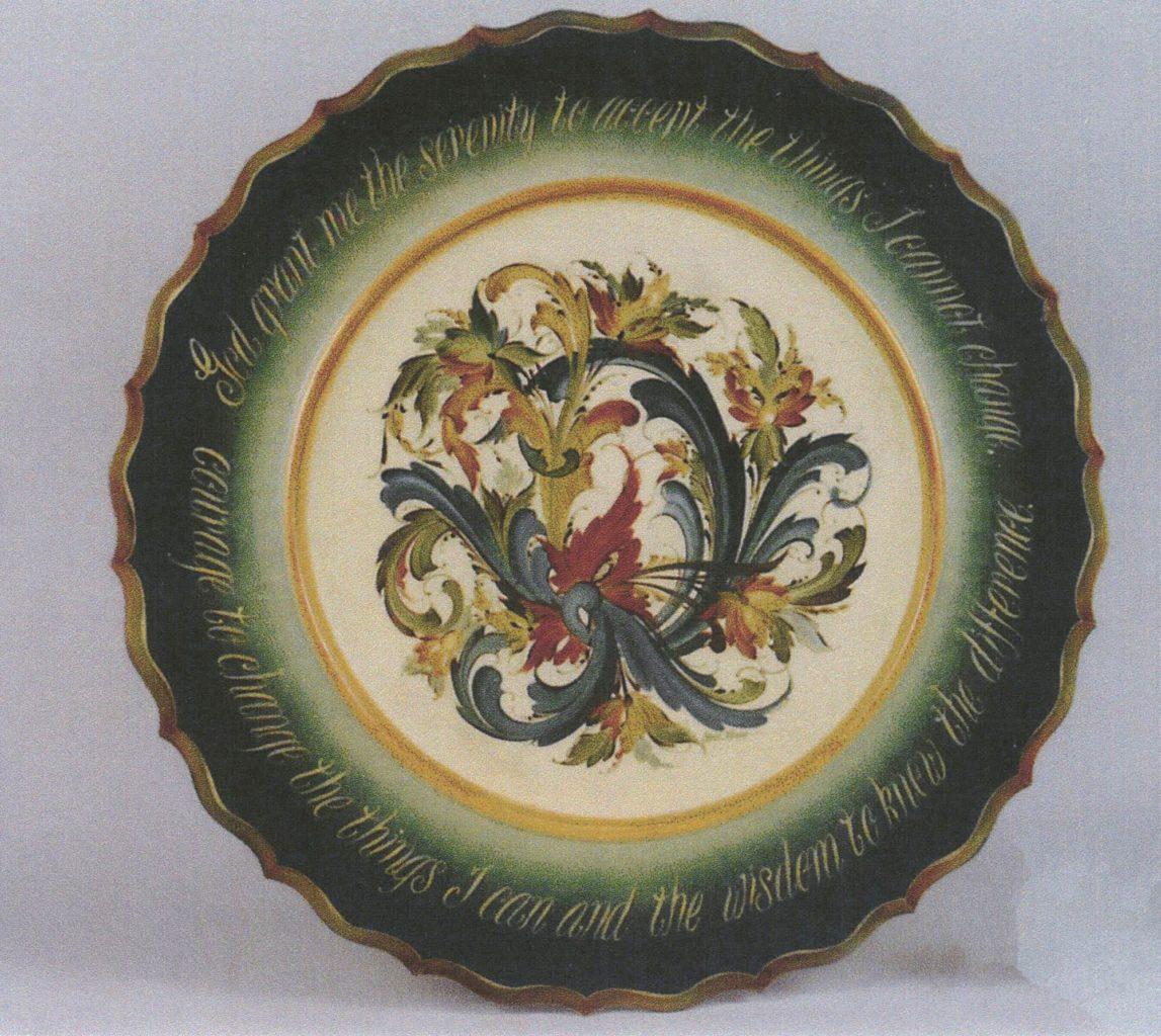 Plate © 1992 Carol Moore Plate © 1992 Carol Moore