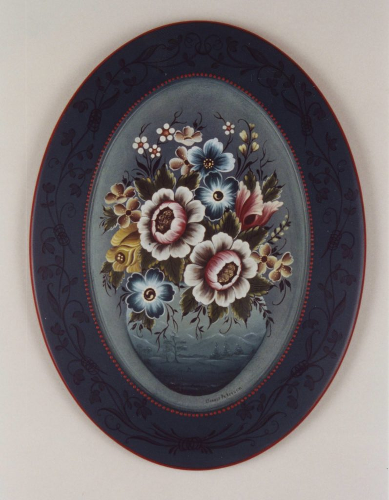 Valdres-style Platter © 1996 Eleanor Peterson Valdres-style Platter © 1996 Eleanor Peterson