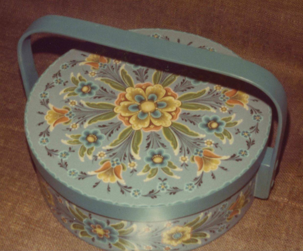 Flatbread box © 1976 Trudy Wasson Flatbread box © 1976 Trudy Wasson