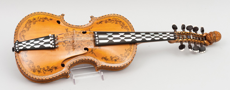 Hardanger fiddle © 2016 Karen Rebholz